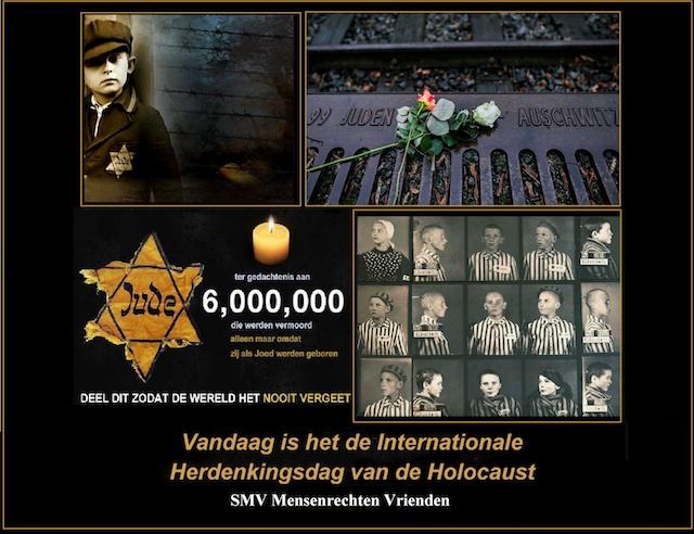 Holocaust 6.000.000 slachtoffers