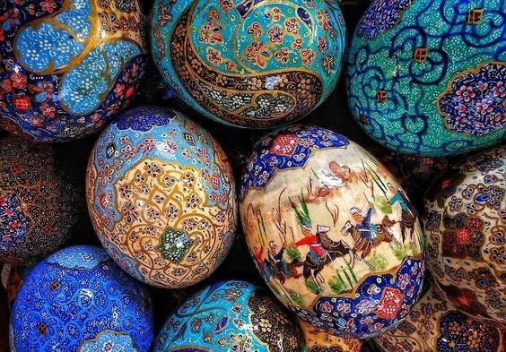 Beschilderde eieren