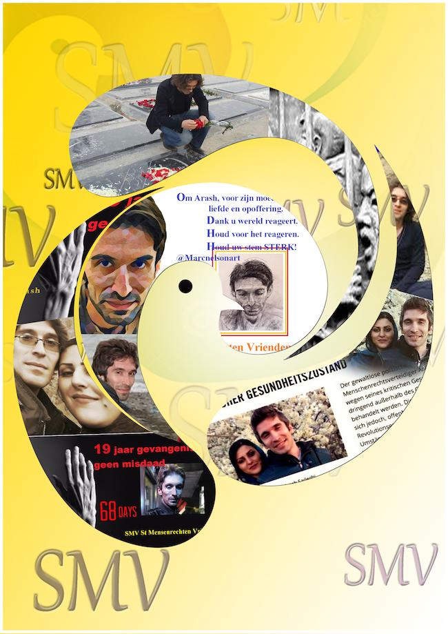 SMV - Herdenking van de politieke gevangen in Iran