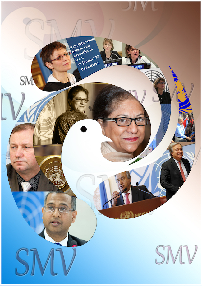 SMV 64ste veroordelingen van de het regime van Iran door de VN