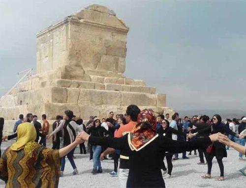Iran blokkeert bijeenkomst bij het graf van oude Perzische koning Cyrus de Grote