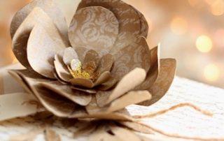 Bedankt bloem voor Gouden harten