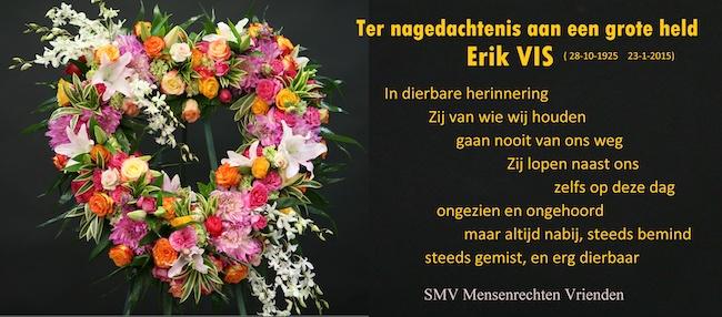In memory of Erik Vis