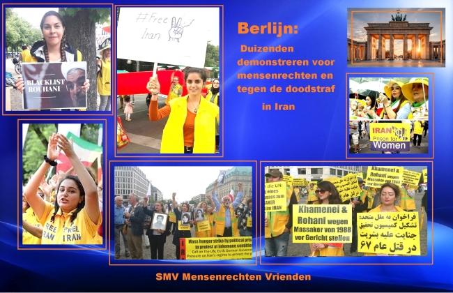 Berlijn demonstratie 20 juli 2019