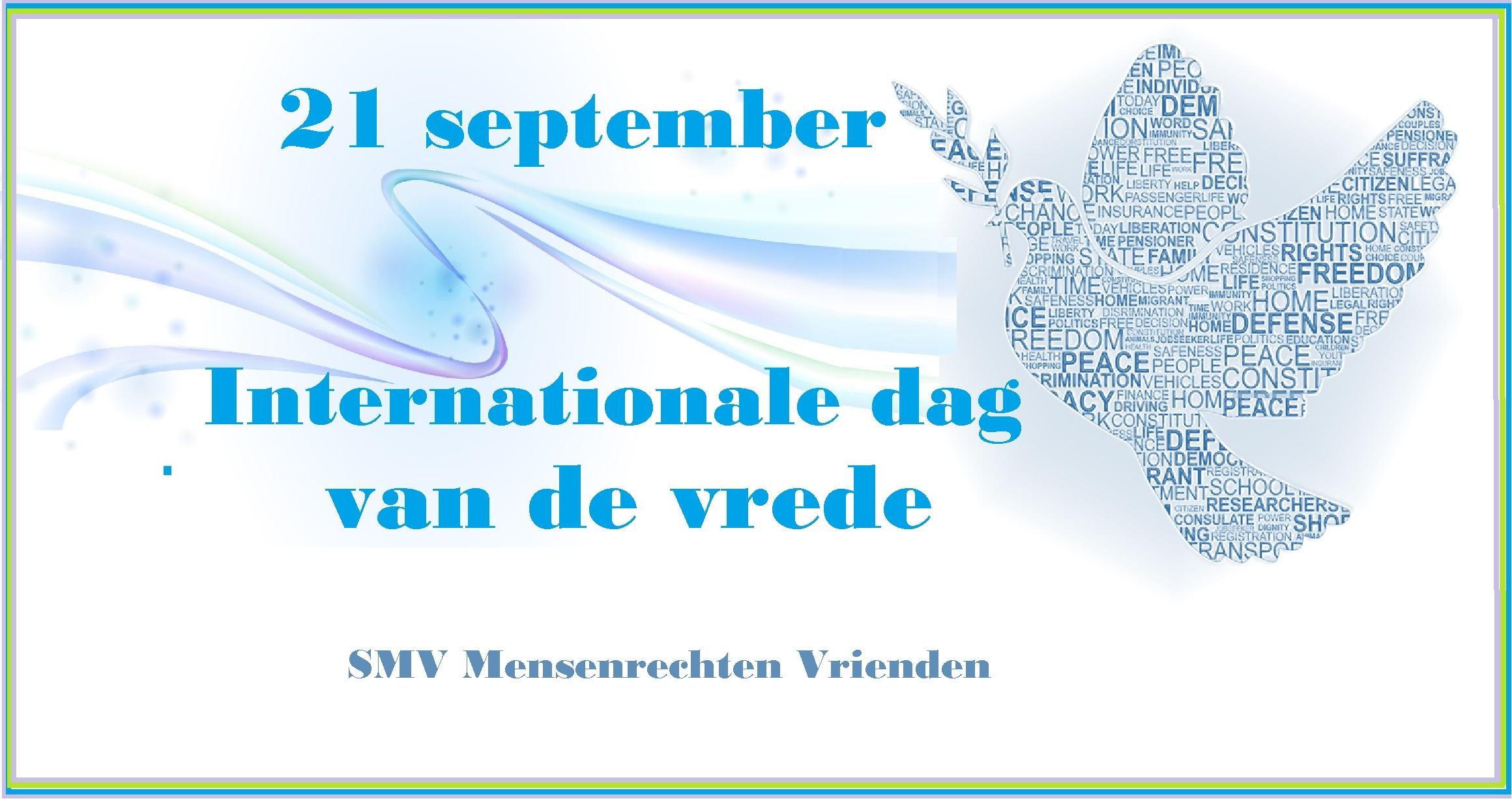 21 september, Internationale dag van de Vrede