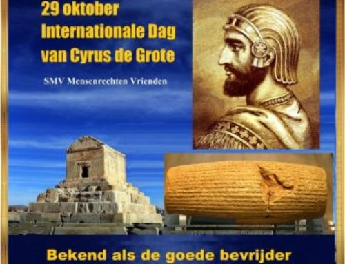 29 oktober Internationale dag van Cyrus de Grote
