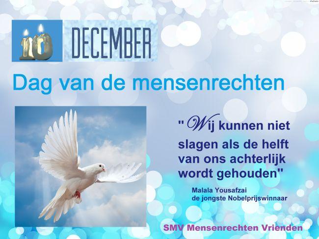 10 december, dag van de mensenrechten