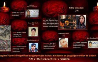 Bevestigd: 18 adolescenten vermoord tijdens de protestdemonstraties