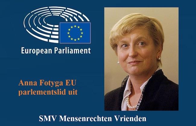 Anna Fotyga EU parlementslid uit Poland