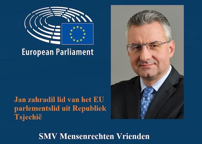 Jan zahradil lid van het EU parlementslid uit Republiek Tsjechië