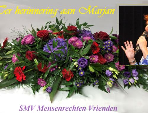 Marjan, stem van politieke gevangene en beroemde Perzische zangeres, is heengegaan