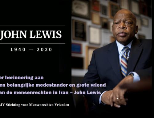 Ter herinnering aan een belangrijke medestander en grote vriend van de mensenrechten in Iran – John Lewis