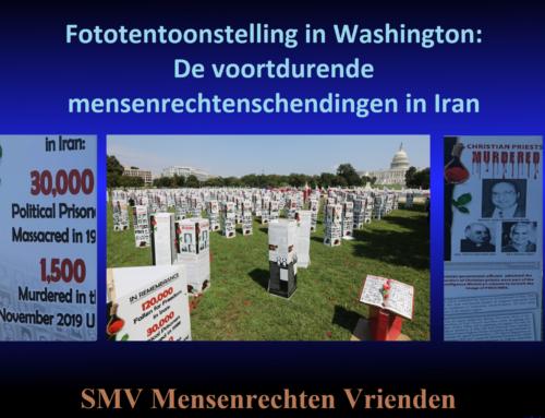 Fototentoonstelling in Washington: De voortdurende mensenrechtenschendingen in Iran