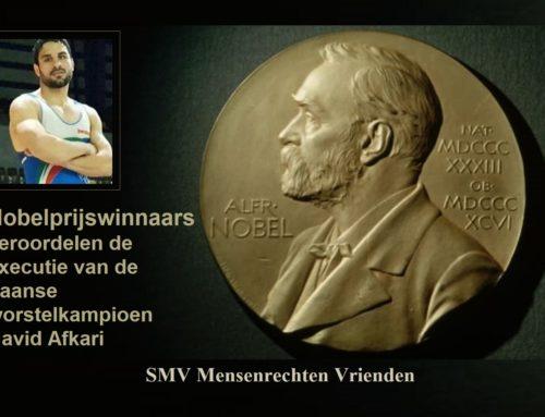 Nobelprijswinnaars veroordelen de executie van de Iraanse worstelkampioen Navid Afkari