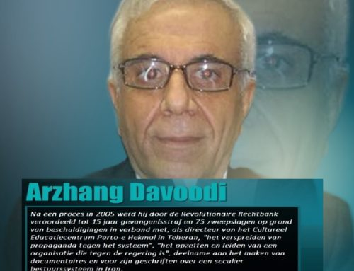 Iran: Arzhang Davoudi incommunicado gehouden in de gevangenis