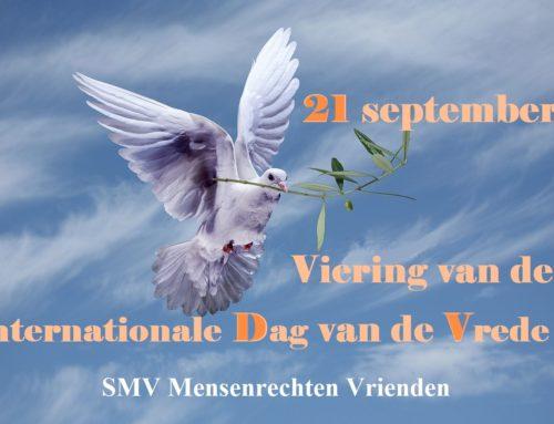 Viering van de Internationale Dag van de Vrede