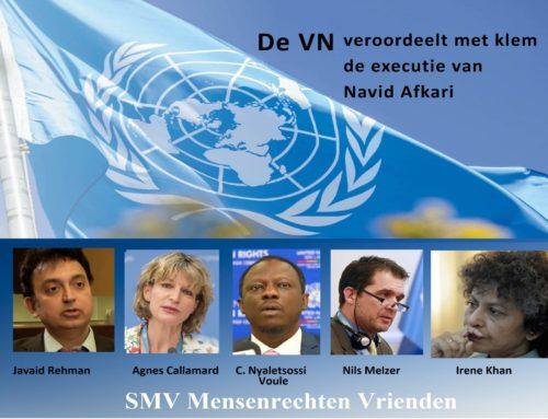 De VN veroordeelt met klem de executie van Navid Afkari