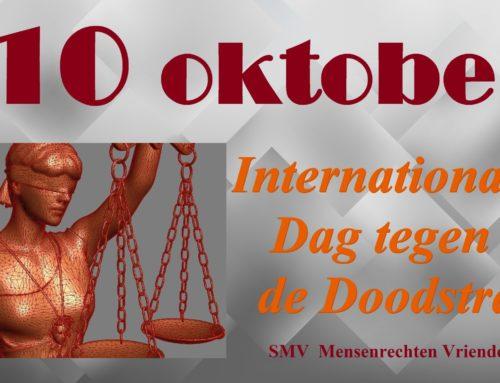 10 oktober, Werelddag tegen de Doodstraf