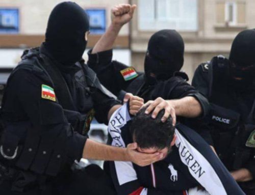 Iran, foltering in het openbaar: paraderen en vernederen van gedetineerden in de straten