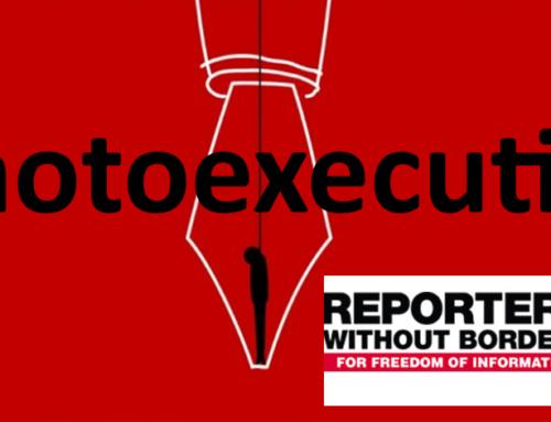 Reporters zonder grenzen: stop de executies in Iran!
