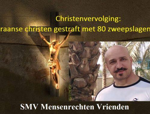 Christenvervolging: Iraanse christen gestraft met 80 zweepslagen