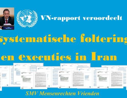 VN-rapport veroordeelt systematische foltering en executies in Iran