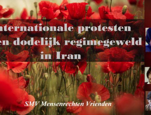 Internationale protesten tegen dodelijk regimegeweld in Iran