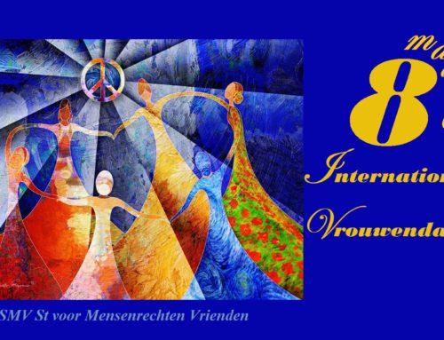 Iraanse vrouwen vieren 8 maart in de frontlinie van hun strijd voor vrijheid