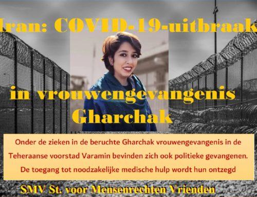 Iran: COVID-19-uitbraak in vrouwengevangenis Gharchak