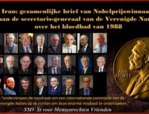 Iran: gezamenlijke brief van Nobelprijswinnaars aan de secretaris-generaal van de Verenigde Naties over het bloedbad van 1988