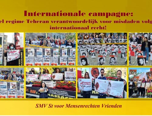Internationale campagne: stel regime Teheran verantwoordelijk voor misdaden volgens internationaal recht!