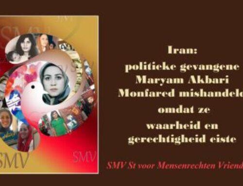 Iran: politieke gevangene Maryam Akbari Monfared mishandeld omdat ze waarheid en gerechtigheid eiste